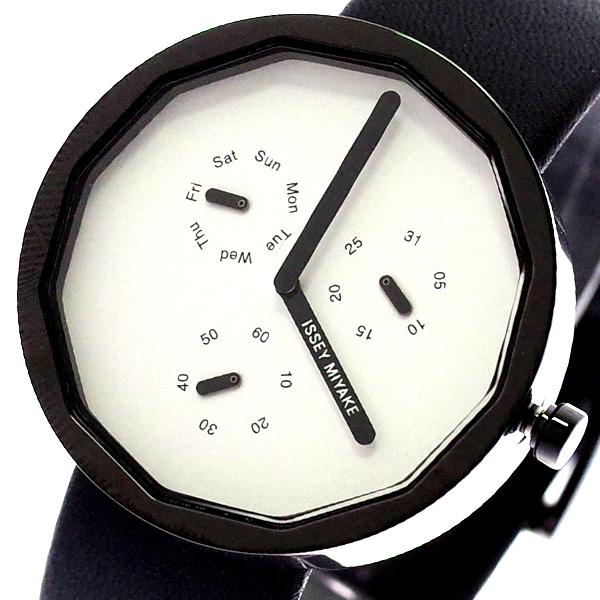 イッセイミヤケ ISSEY MIYAKE 腕時計 メンズ レディース SILAP008 トゥエルブ TWELVE 深澤直人デザインモデル クォーツ ホワイト ブラック ホワイト【送料無料】