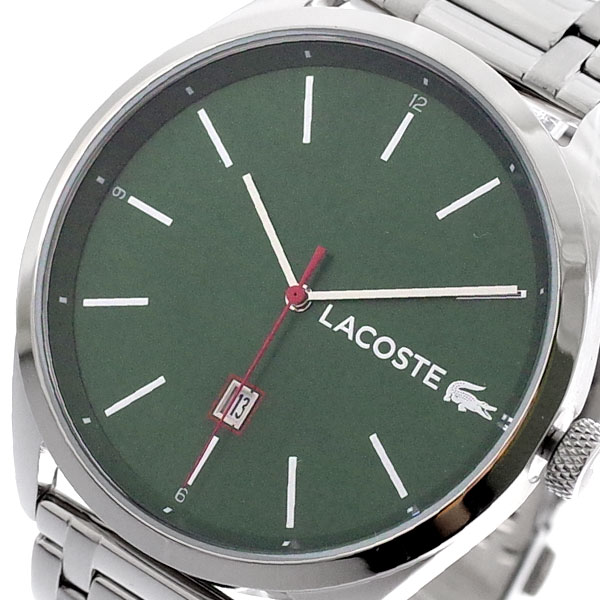 ラコステ LACOSTE 腕時計 メンズ 2010961 クォーツ グリーン シルバー グリーン【送料無料】