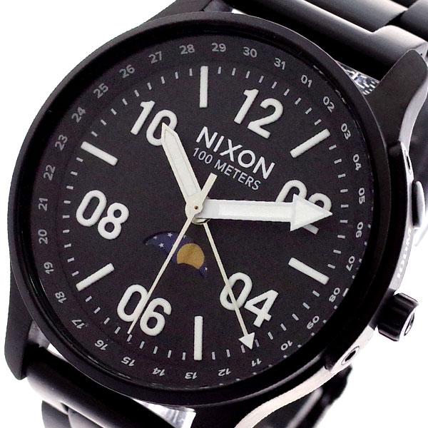 ニクソン NIXON 腕時計 メンズ A12082474 ASCENDER クォーツ ブラック ブラック【送料無料】
