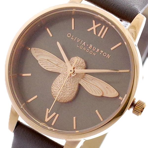 オリビアバートン OLIVIA BURTON 腕時計 レディース OB16AM148 クォーツ グレー グレー【送料無料】