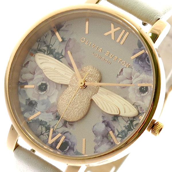 オリビアバートン OLIVIA BURTON 腕時計 レディース OB16PP41 クォーツ ライトベージュ ライトベージュ【送料無料】