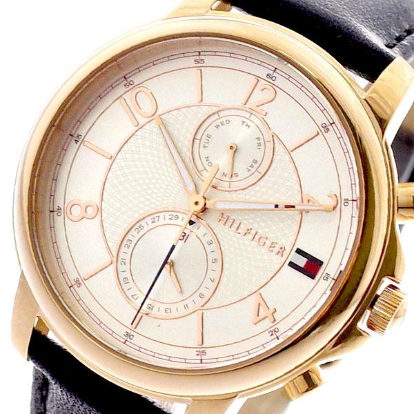 トミーヒルフィガー TOMMY HILFIGER 腕時計 メンズ レディース 1781817 クォーツ ピンクゴールド ブラック ピンクゴールド【送料無料】