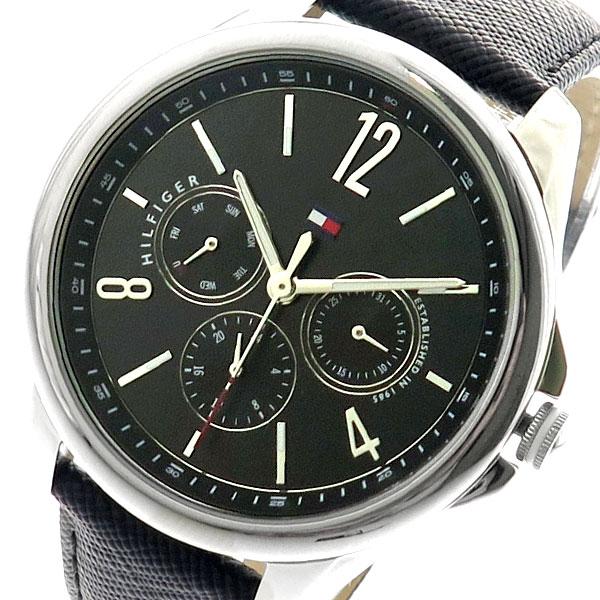 トミーヒルフィガー TOMMY HILFIGER 腕時計 メンズ 1781822 クォーツ ブラック ブラック【送料無料】