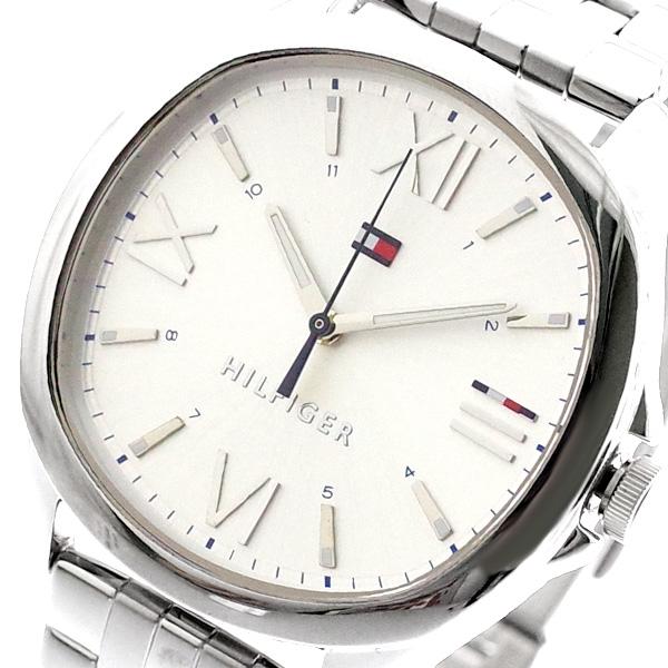 トミーヒルフィガー TOMMY HILFIGER 腕時計 レディース 1781888 クォーツ シルバー シルバー【送料無料】