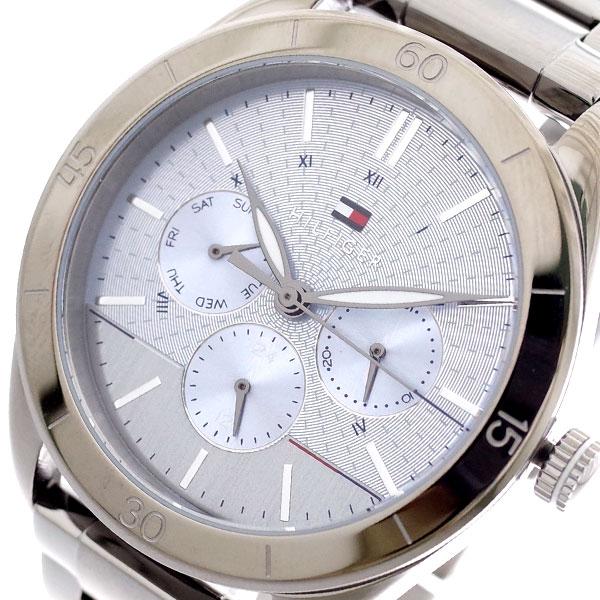 トミーヒルフィガー TOMMY HILFIGER 腕時計 メンズ レディース 1781885 クォーツ ブルー メタリックグレー ブルー【送料無料】