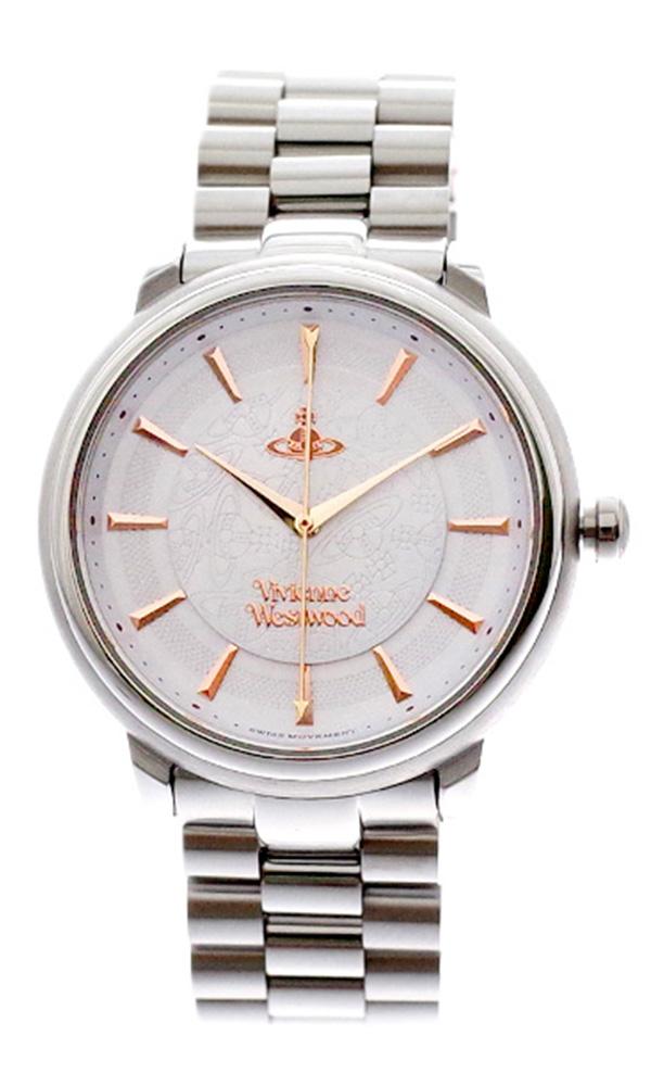 ヴィヴィアンウエストウッド VIVIENNE WESTWOOD 腕時計 レディース VV196SLSL クォーツ ホワイト シルバー ホワイト