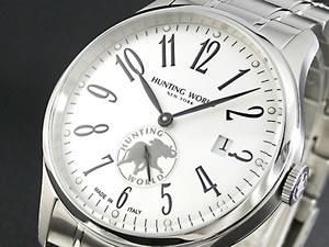 ハンティングワールド 腕時計 ウィリアム ジャンクション HW012SI【RCP】H2