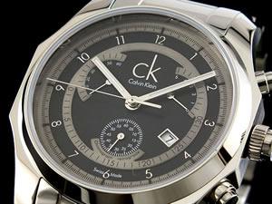 カルバン クライン CK 腕時計 ビズ レトログラード K7731104【RCP】