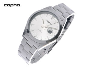 【 新品 】 COPHA コプハ 腕時計 BASIC TIME メンズ シルバー×シルバー【RCP】, 座布団の一疋屋 c2cc4f0a