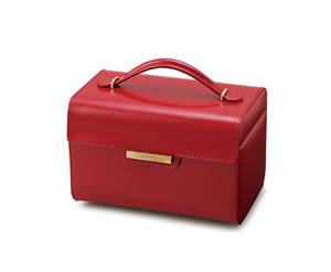 レザージュエルケースコレクション Leather Jewel Case Collection 240-221R レッドH2