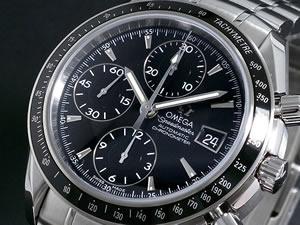 OMEGA オメガ 腕時計 スピードマスター デイト 3211-30【送料無料】:リコメン堂生活館