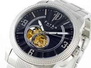 注目ブランド FURBO DESIGN フルボデザイン 腕時計 自動巻き メンズ F4004BKSS, キープイット 5e154ace