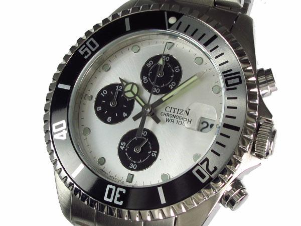 割引価格 シチズン CITIZEN クロノグラフ メンズ 腕時計 AN3301-50A【RCP】, 【ネット限定】 fa92a550