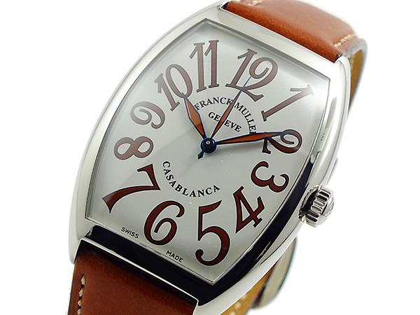 フランクミュラー FRANCK MULLER カサブランカ 自動巻き 腕時計 6850-C-SHR-WHBR【送料無料】