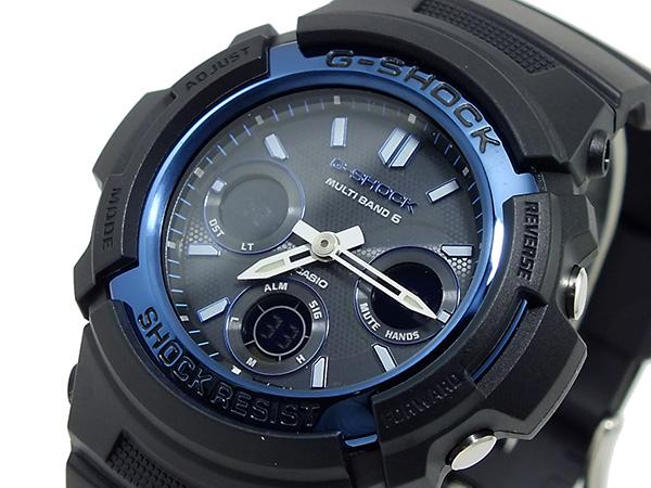 カシオ CASIO Gショック 電波 ソーラー マルチバンド6 腕時計 AWGM100A-1A