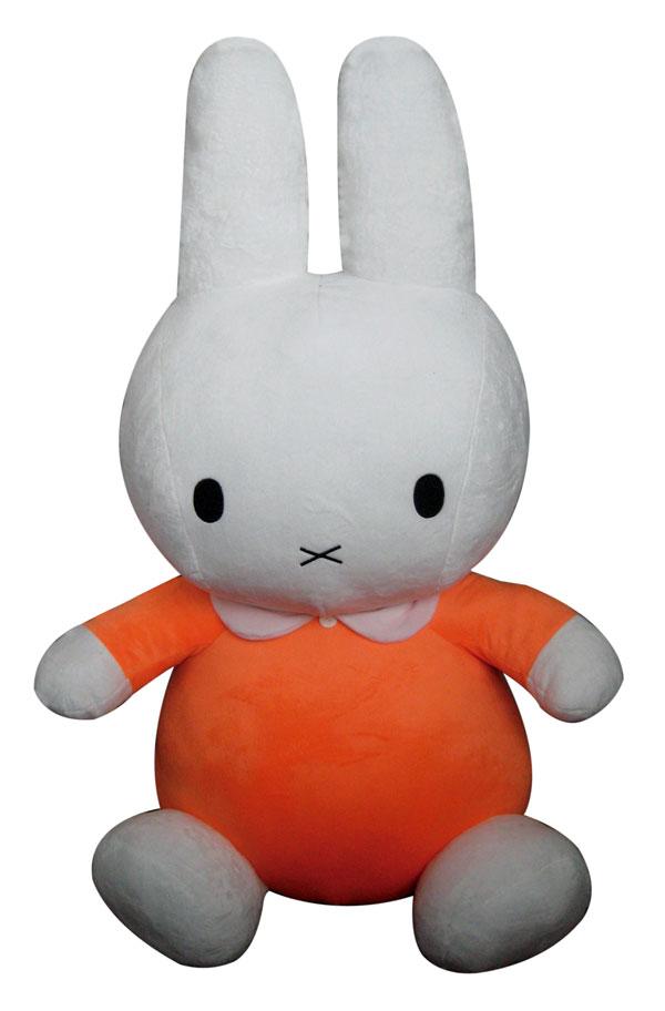 ぬいぐるみ ミッフィー 85cm オレンジ MIFFY-85ORE
