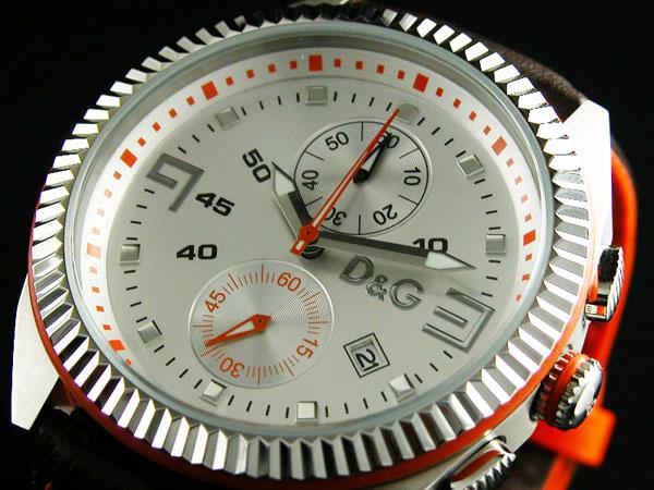 D&G ドルチェ&ガッバーナ 腕時計 時計 LOU クロノグラフ DW0033
