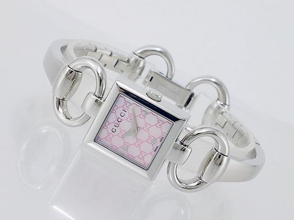 グッチ GUCCI トルナブォーニ クオーツ レディース 腕時計 YA120518