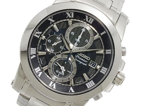 セイコー SEIKO Premier クロノグラフ メンズ 腕時計 SNAF31P1【送料無料】