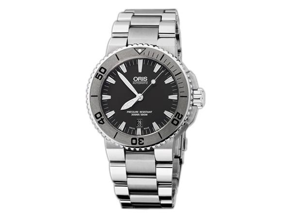 オリス ORIS アクイス Aquis 自動巻き メンズ 腕時計 73376534153M 国内正規【送料無料】