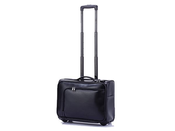 ヒデオ デザイン HIDEO DESIGN アイラ TSAカードロック キャリー スーツケース 機内持ち込み可 22L 85-75531 ブラック ソフトケース (代引き不可)【送料無料】