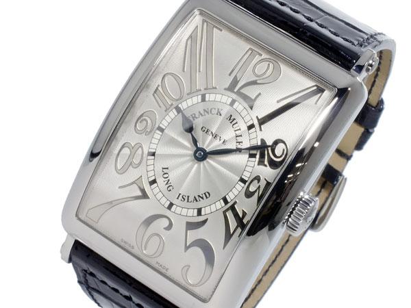 フランクミュラー FRANCK MULLER ロングアイランド 自動巻き メンズ 腕時計 1200-SC-REL-SLV-BLK-BKH (き)【送料無料】