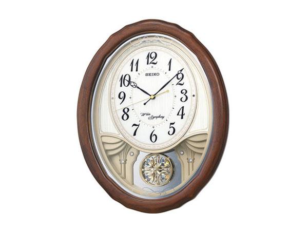 セイコー SEIKO からくり時計 電波時計 掛け時計 AM257B【送料無料】