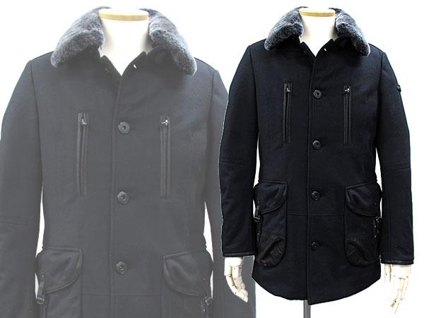 驚きの安さ ピューテリー PEUTEREY コート TREMONT ブラック コート メンズ PEUTEREY 48 M【送料無料 メンズ】:リコメン堂生活館, カミマチ:c477430c --- nagari.or.id