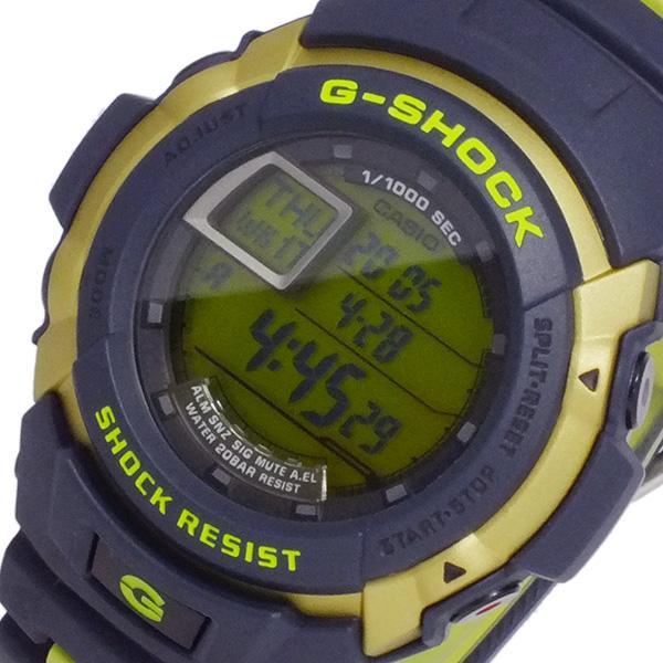 【人気商品】 カシオ CASIO Gショック Gスパイク メンズ 腕時計 時計 G-7710C-3 ブラック/グリーン, 古着屋mellow e5524fd1