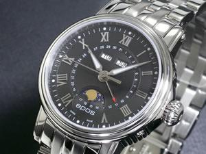 エポス EPOS 腕時計 ムーンフェイズ 4391RBKM【送料無料】【RCP】