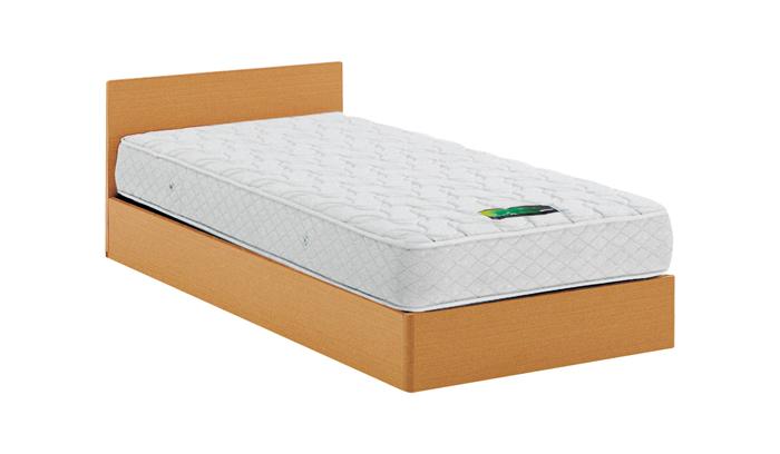 ASLEEP アスリープ ベッドフレーム セミダブルサイズ チボー FYAG32DC ナチュラル 引出し無し アイシン精機 ベッド(代引不可)【送料無料】