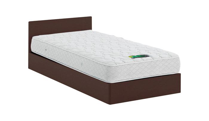ASLEEP アスリープ ベッドフレーム ダブルロングサイズ チボー FYAG48DC ダークブラウン 引出し無し アイシン精機 ベッド(代引不可)【送料無料】