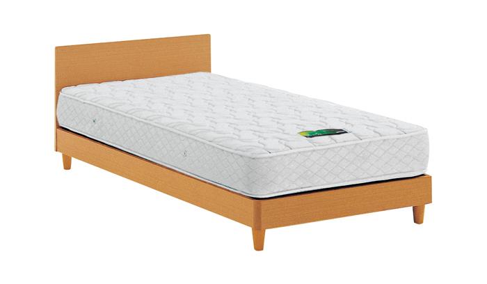 ASLEEP アスリープ ベッドフレーム ダブルサイズ チボー FYAP33DC ナチュラル 脚付き アイシン精機 ベッド(代引不可)【送料無料】