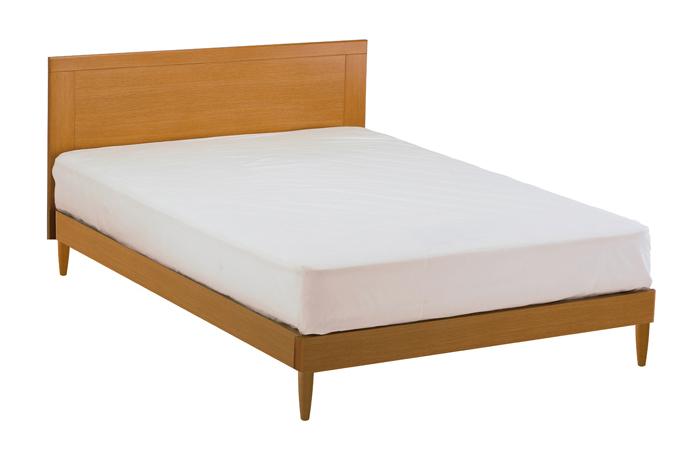 ASLEEP アスリープ ベッドフレーム ダブルロングサイズ マリン FY25P8DC ナチュラル 脚付き アイシン精機 ベッド(代引不可)【送料無料】