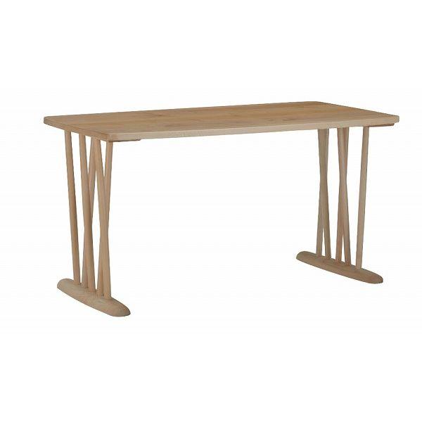 ミキモク ダイニングテーブル 楓の森 ナチュラル 角丸タイプ 80×140cm KMT-1410 KML-752 KNA(代引不可)【送料無料】