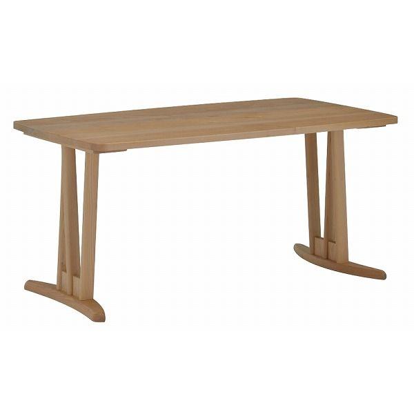 ミキモク ダイニングテーブル 楓の森 ナチュラル 角丸タイプ 80×140cm KMT-1410 KML-637 KNA(代引不可)【送料無料】