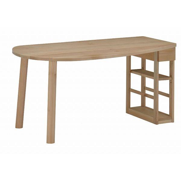 ミキモク ダイニングテーブル 楓の森 ナチュラル 150×85cm KMLT-1530L KMLB-30 KNA KML-742 KNA(代引不可)【送料無料】