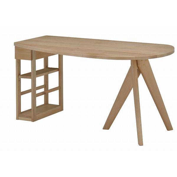 ミキモク ダイニングテーブル 楓の森 ナチュラル 150×85cm KMLT-1530R KMLB-30 KNA KML-731 KNA(代引不可)【送料無料】