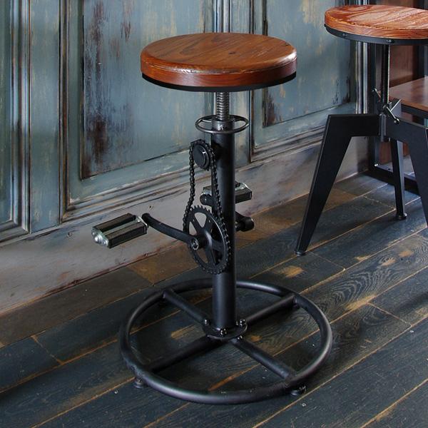 バーチェア INDUSTRIAL(インダストリアル) カウンターチェア チェア 椅子 いす(代引不可)【送料無料】