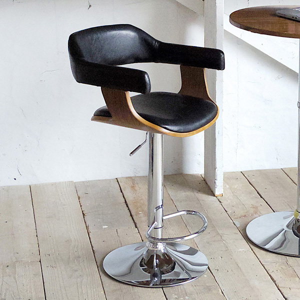 バーチェア Gracia(グラシア) カウンターチェア チェア 椅子 いす(代引不可)【送料無料】