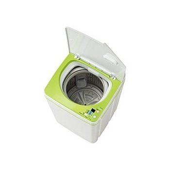 ハイアール 全自動洗濯機 3.3kg JW-K33F-W 風乾燥機能付(代引不可)【送料無料】