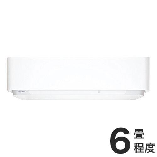 東芝 ルームエアコン E-DRHシリーズ おもに6畳 RAS-E225DRH-W (設置工事不可)(代引不可)【送料無料】