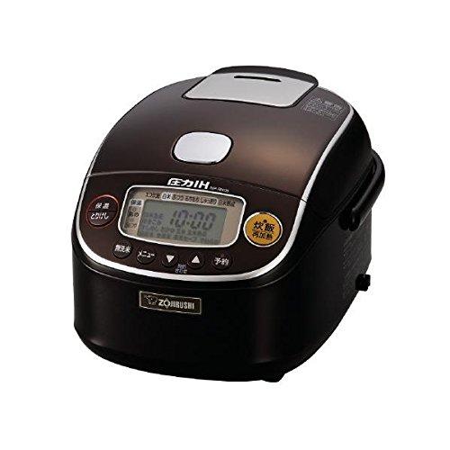 象印 圧力IH炊飯ジャー 極め炊き 3合 NP-RY05-TD ダークブラウン 炊飯器【送料無料】