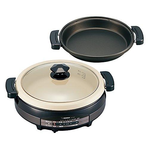 象印 グリル鍋 あじまる EP-RD20-TA ブラウン 電気鍋 なべ1個+プレート1枚【送料無料】