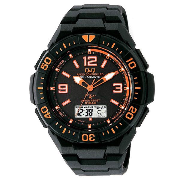 【CITIZEN】シチズン Q&Q 電波ソーラー メンズ腕時計MD06-315 SOLARMATE (ソーラーメイト) /5点入り(代引き不可)