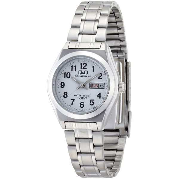 【CITIZEN】シチズン Q&Q ソーラー電源 レーディース腕時計H011-204 SOLARMATE (ソーラーメイト) /5点入り(代引き不可)
