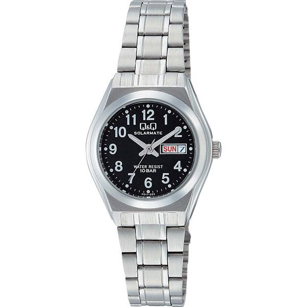 【CITIZEN】シチズン Q&Q ソーラー電源 レーディース腕時計H011-205 SOLARMATE (ソーラーメイト) /5点入り(代引き不可)
