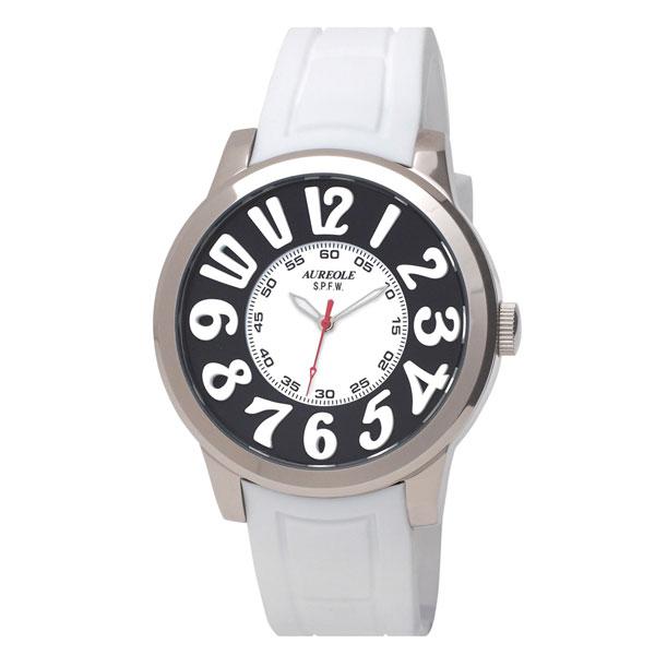 【AUREOLE】オレオール メンズ腕時計 SW-584M-3 アナログ表示 10気圧防水 /10点入り(代引き不可)