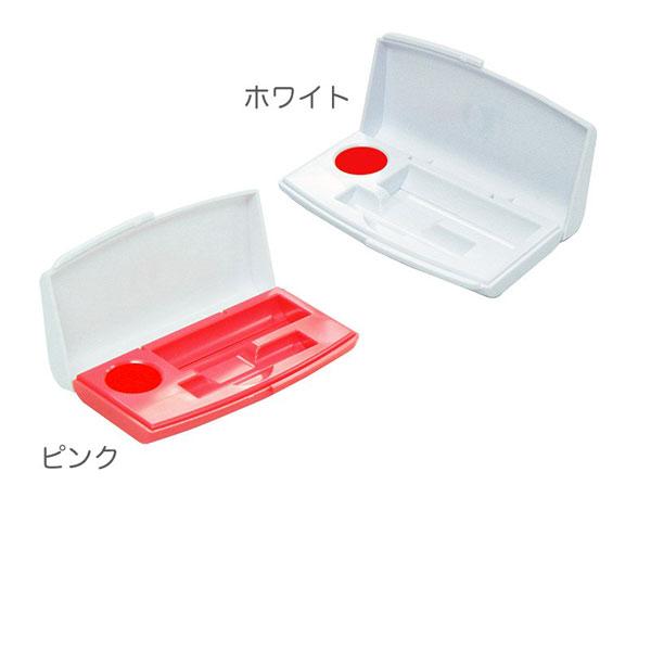 印章ケース OS(オース) 日本製 ホワイト/400点入り(代引き不可)