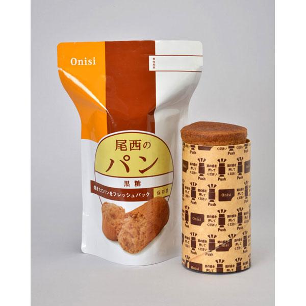 【Onisi】尾西 保存パン 黒糖味 41-B 30袋×3セット 保存期間3年 (日本製) (代引き不可)【送料無料】【S1】